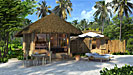 Beach Villa Laamu Resort Malediven