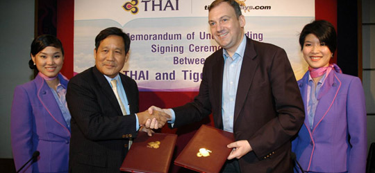 Der Thai Tiger greift an