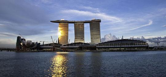 Über den Dächern Singapurs