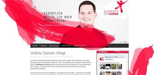 China Tours stellt mit Elements of China eine neue Reiseart nach China vor. Sie wurde zusammen mit der Hochschule Bremen entwickelt und soll vor allem eine jüngere Zielgruppe ansprechen.
