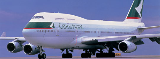 Cathay Pacific B747 400
