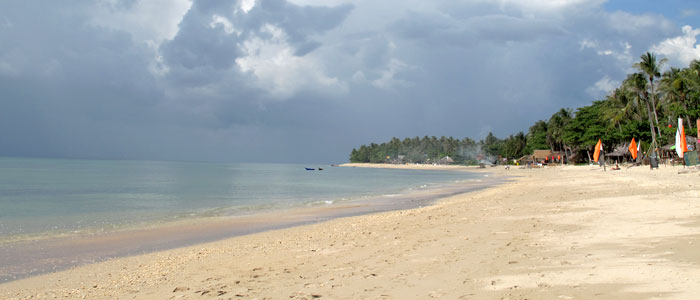 Koh Lanta Beach Panorama