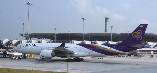 Thai Airways am Airport Bangkok