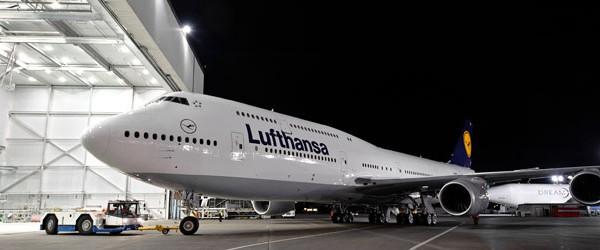 Lufthansa 747- 8