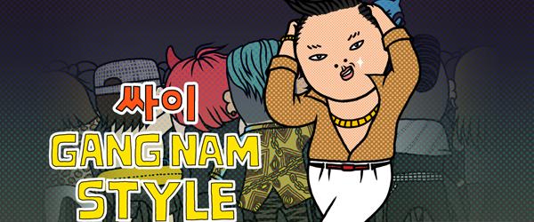 Gangnam Style vom Rapper Spy