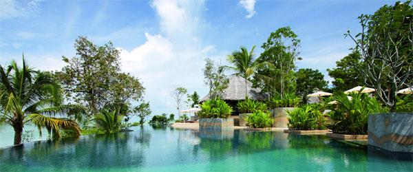 Infinity Pool des Koh Yao Yai Vilage