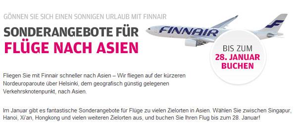 Finnair Angebote