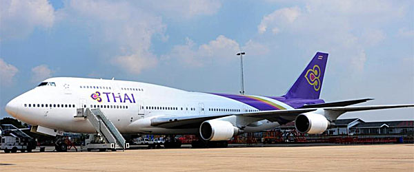 Thai Airways Boeing 747 400